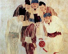 Древний Китай chronowiki Древнекитайские футболисты